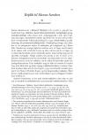 HT 2017:1, s. 147-150 - Jens Rasmussen: Replik til Hanne Sanders
