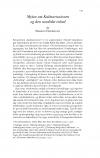 HT 2018:1, s. 145-159 - Markus Hedemann: Myten om Kalmarunionen og den nordiske enhed