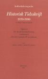 Indholdsfortegnelse til Historisk Tidsskrift 1939-1990