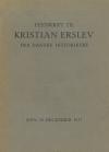 Festskrift til Kristian Erslev