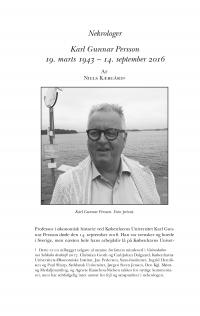 HT 2017:1, s. 208-218 - Niels Kjærgård: Karl Gunnar Persson 19. marts 1943 - 14. september 2016