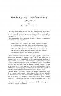 HT 2017:2, s. 363-398 - Peter Heyn Nielsen: Danske regeringers ansættelsesudvalg  1977-2017