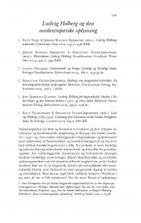 HT 2017:2, s. 549-565 - Kasper Risbjerg Eskildsen: Ludvig Holberg og den nordeuropæiske oplysning