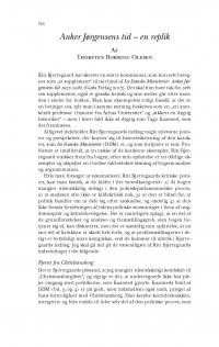 HT 2018:1, s. 134-142 - Thorsten Borring Olesen: Anker Jørgensens tid - en replik