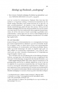 "HT 2018:2, s. 495-505 - Jon Reinhardt-Larsen: Ideologi og Ruslands ""undergang"""