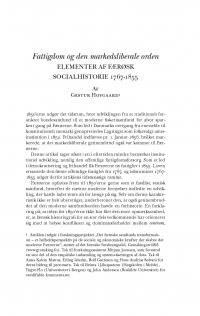 HT 2019:2, s. 407-434 - Gestur Hovgaard: Fattigdom og den markedsliberale orden. Elementer af færøsk socialhistorie 1767-1855.