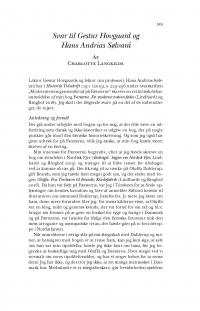 HT 2020:2, s. 523-531 - Charlotte Langkilde: Svar til Gestur Hovgaard og  Hans Andrias Sølvará