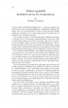 HT 2019:1, s. 172-174 - Anders Lundkvist: Historie og politik. Kommentar til en anmeldelse