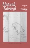 Historisk Tidsskrift 2019:1