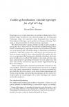 HT 2020:2, s. 407-446 - Peter heyn Nielsen: Ledelse og koordination i danske regeringer fra 1848 til i dag