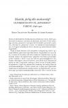 """HT 2021:1, s. Brian Traantoft Rasmussen & Garbi Schmidt: Eksotisk, farlig eller ønskværdig? Danskernes syn på """"kineseren"""" i årene 1896-1920"""
