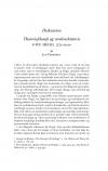 HT 2021:1, s. 151-200 - Jan Pedersen: Historiefilosofi og verdenshistorie. G.W.F. Hegel 1770-2020