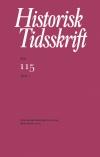 Historisk Tidsskrift 2015:1