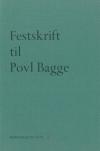 Festskrift til Povl Bagge